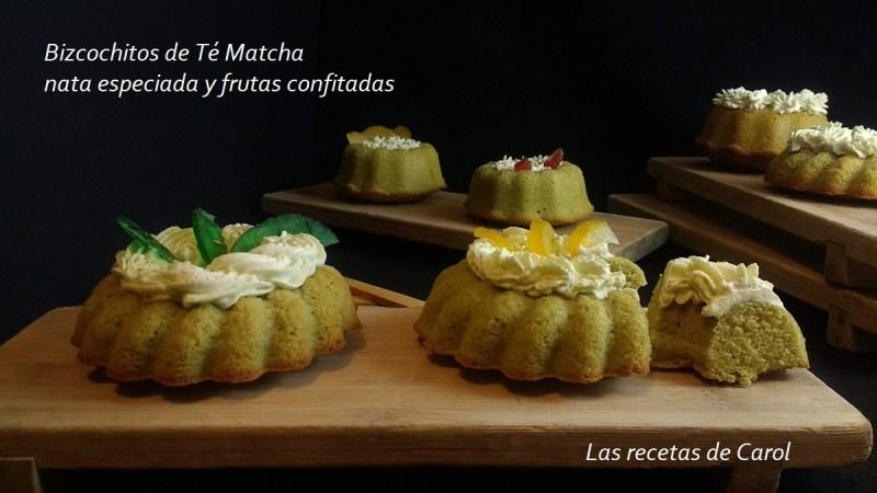 Bizcocho de Té Matcha