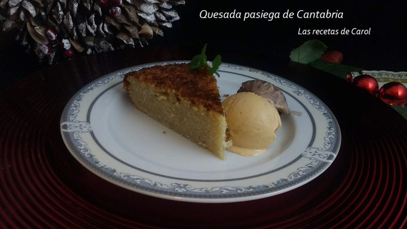 Quesada pasiega de Cantabria