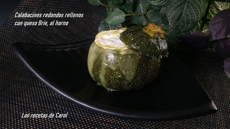 Calabacines redondos rellenos