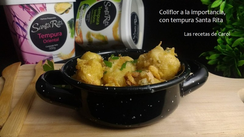 Recetas de Coliflor en tempura