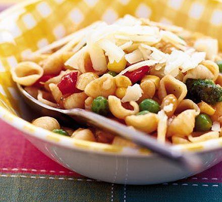 Recetas – Pasta minestrone