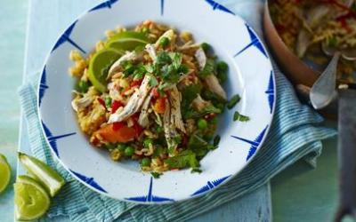 Recetas – Pollo con arroz