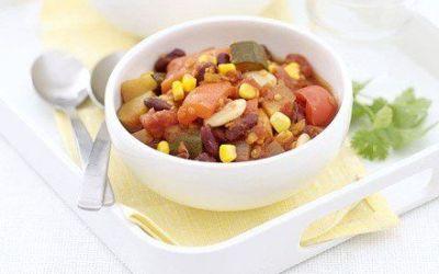 Recetas – Chili Vegetariano