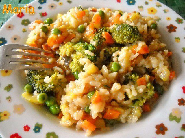 Recetas – Risotto de hortalizas