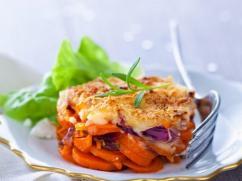 Recetas – Gratinado de zanahorias confitadas y parmesano