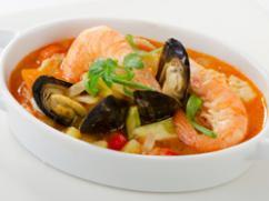 Recetas – Sopa de mariscos