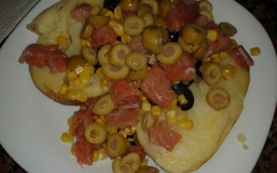 Recetas – Super patata rellena
