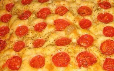 Recetas – Focaccia con tomate cherry
