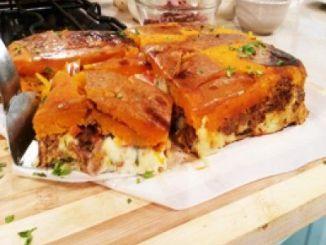 Recetas - Pastel de calabaza y shawarma