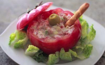 Recetas – Tomates Rellenos de Atún y Mayonesa