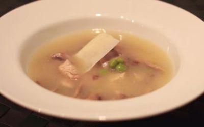 Recetas – Sopa de Pollo con Champiñones