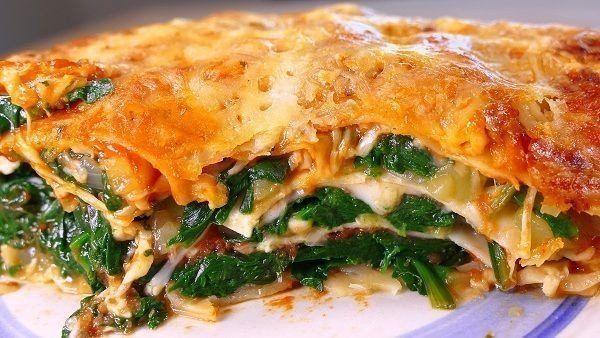 Lasaña de jamón y queso ¡debes probarla!