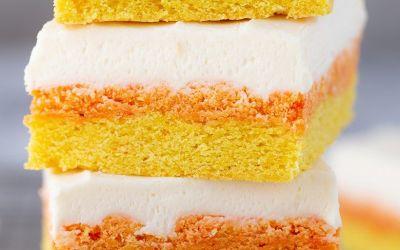Barras de galletas de azúcar de maíz dulce