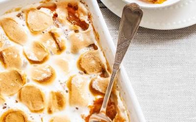 Cazuela de batata (¡con malvaviscos!)