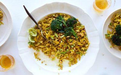 Pad Thai (Vegetariano) – 101 Libros de cocina