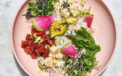 Cómo hacer un gran poke bowl vegetariano