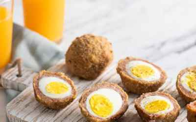 Huevos escoceses al horno – bajo en carbohidratos