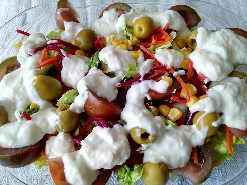 Aliño para ensaladas con yogur0 (0)