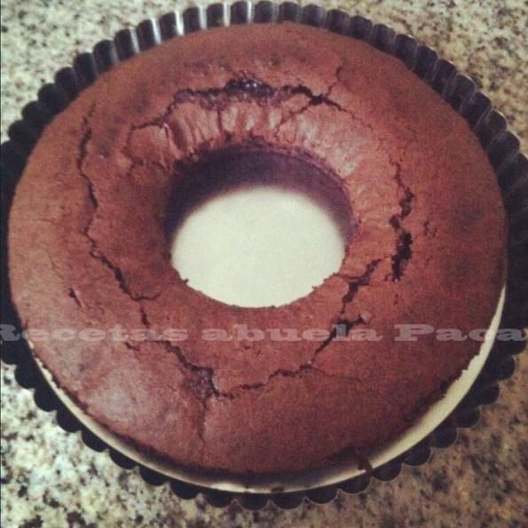 bizcocho chocolate paulina blog