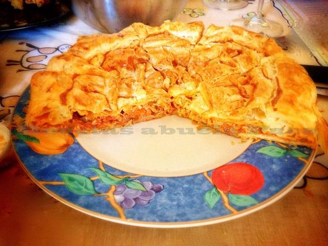 Empanada de bonito escabechado ofrecida por Miguel Álvarez