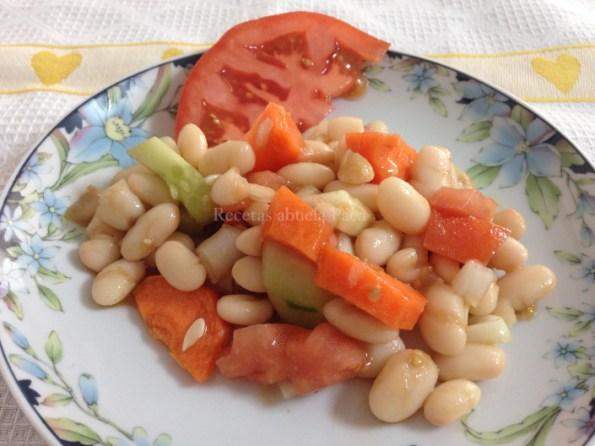ensalada alubias y verduras blog