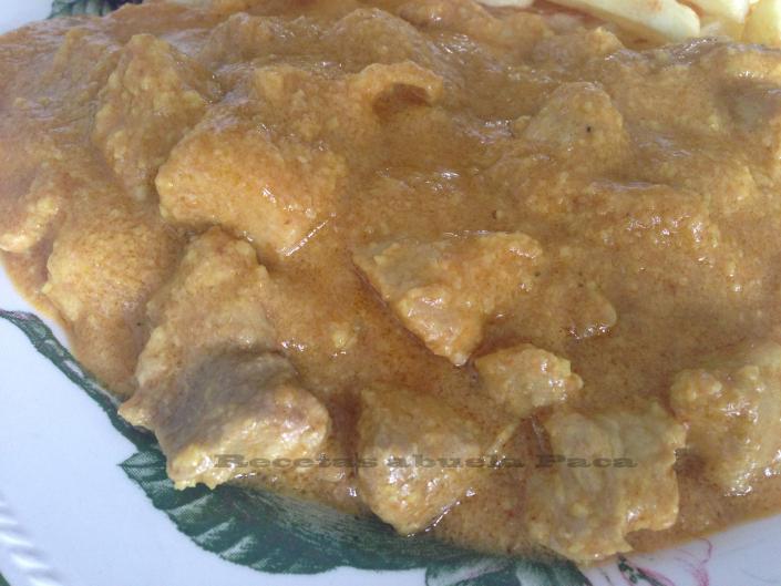 Magra de jamón en salsa de almendras5 (1)