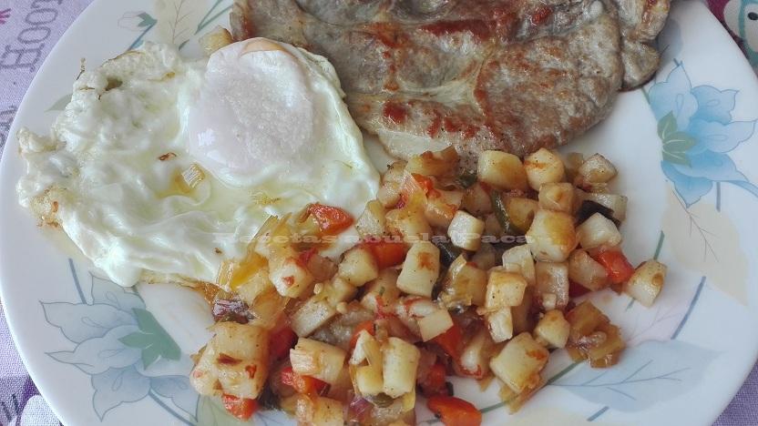 Picadillo de verduras con patatas
