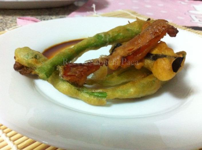 Tempura de verduras con salsa teriyaki0 (0)