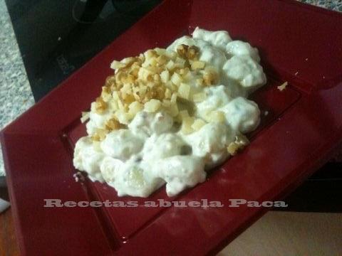 ñoquis a la gorgonzola sara blog