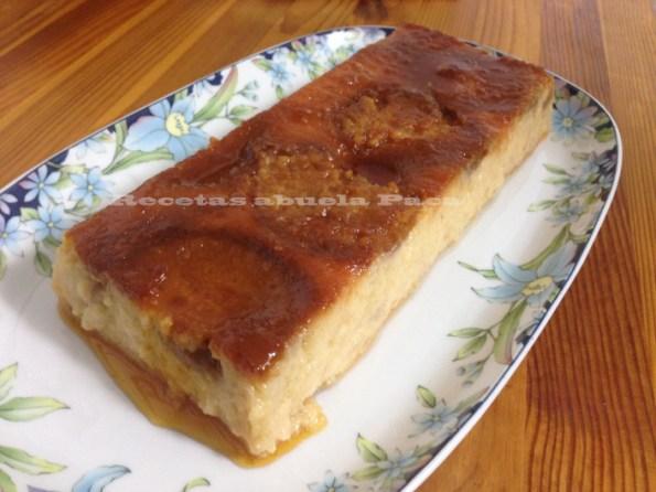 flan de peras y manzanas blog