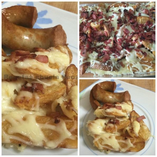 patatas gajo con queso y crujiente de bacon blog3