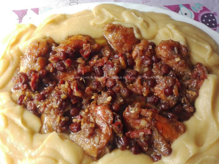 Pollo con coca cola y puré de manzanas0 (0)