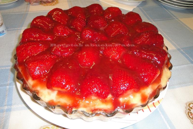Tarta de fresas ofrecida por Antoñita García0 (0)
