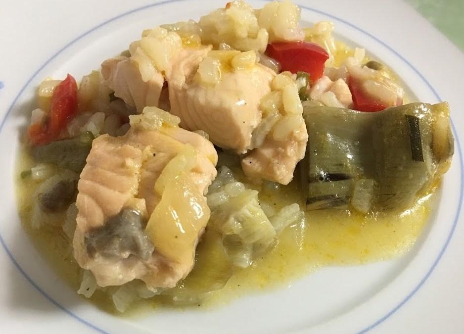Arroz caldoso con salmón0 (0)