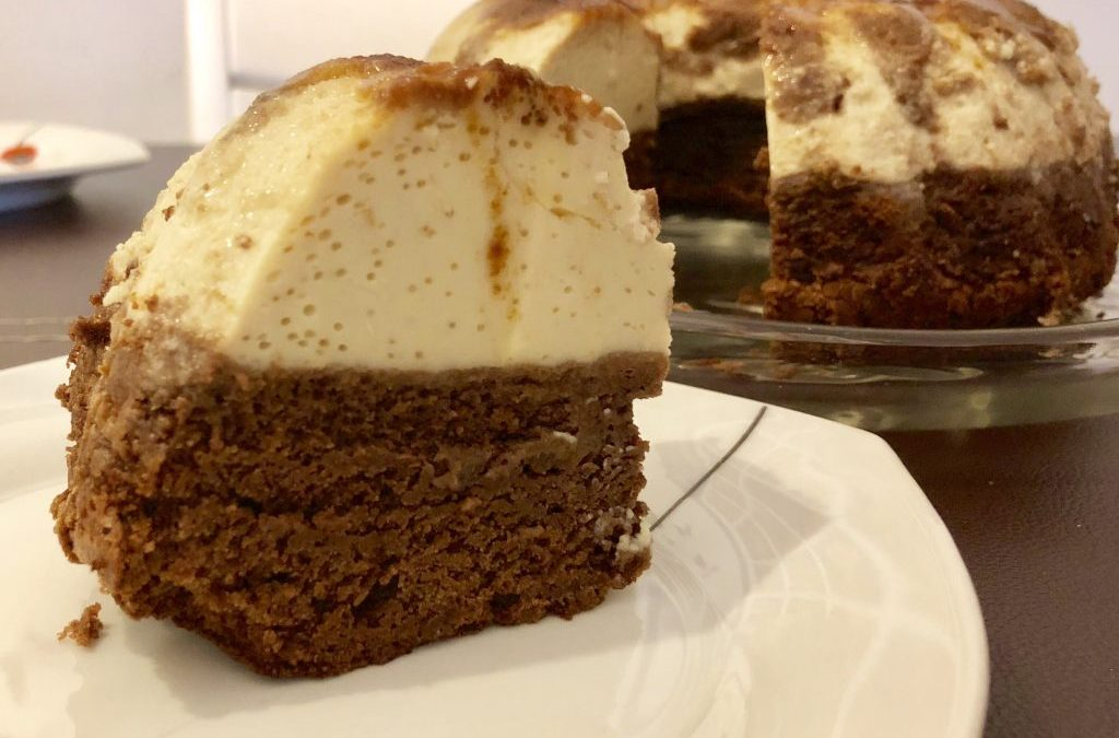 Brownie-Flan en Thermomix TM5