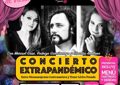 Concierto Extrapandémico en El Vicio