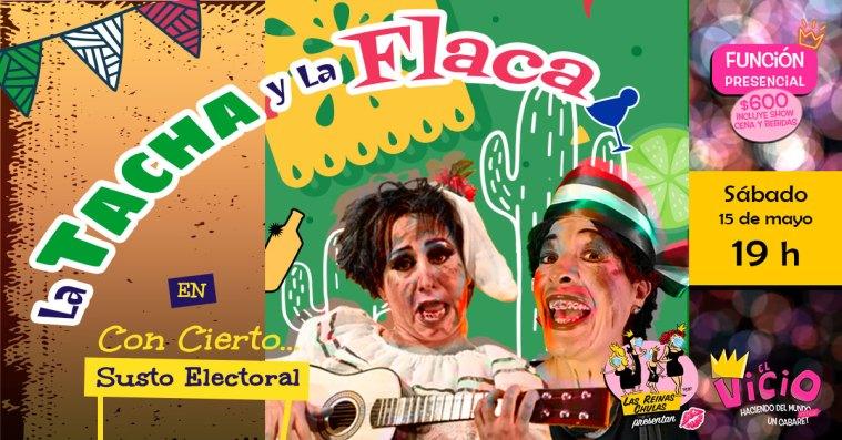 Evento de Facebook de La Tacha y la Flaca