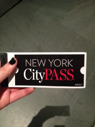 Thank you Taylor for the free city pass!!