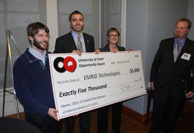 EMRID Technologies, U student startup, wins $5,000 at OQ.