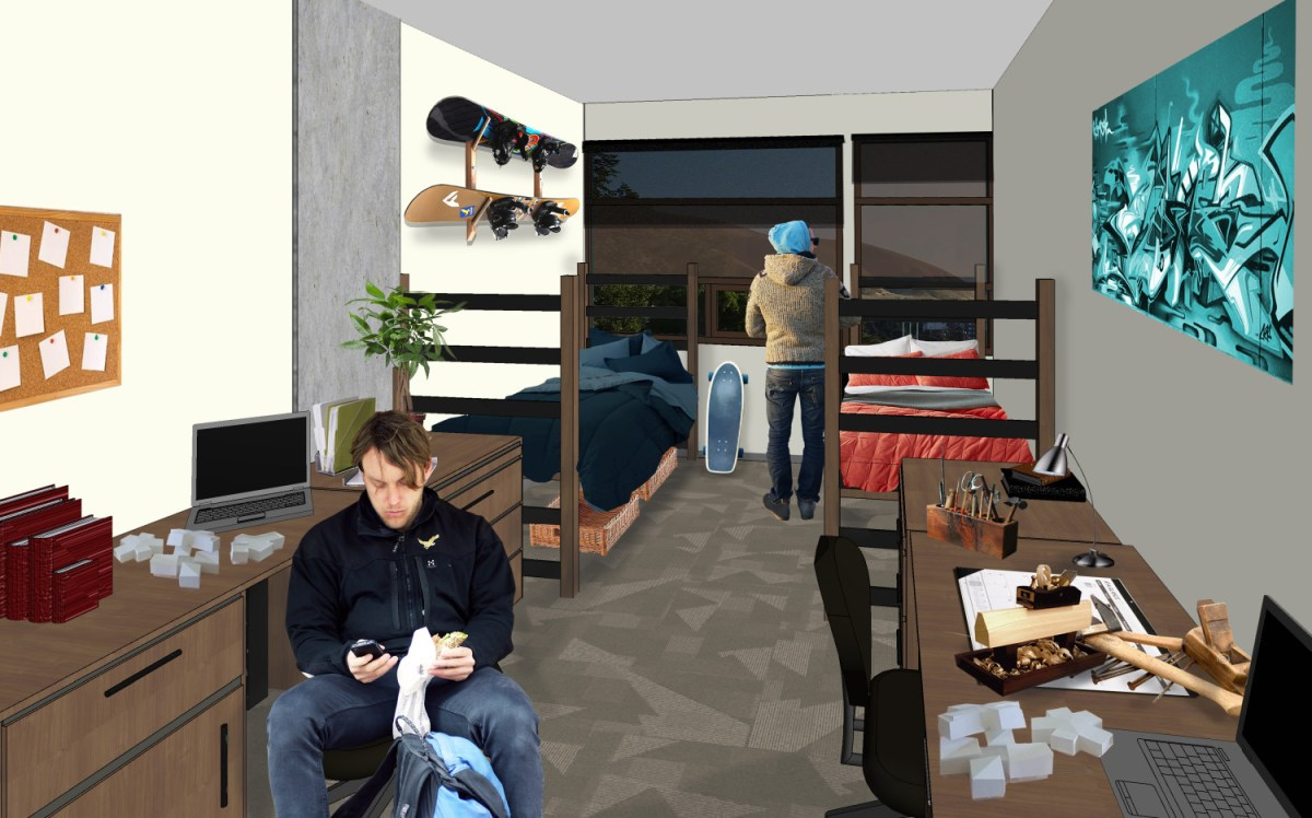Digital mock-up of the Lassonde Studios, opening Fall 2016.