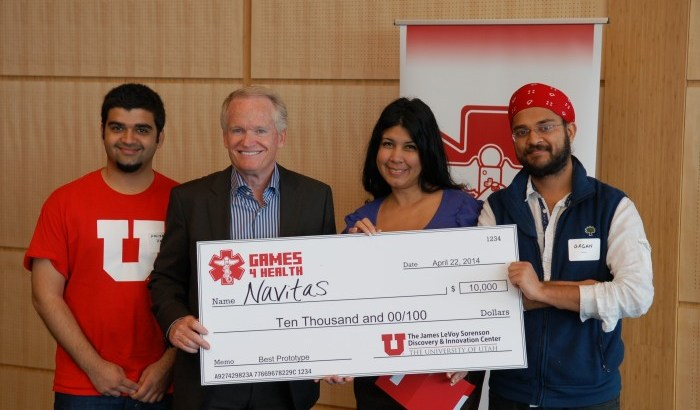 Navitas win Games4Health competition.
