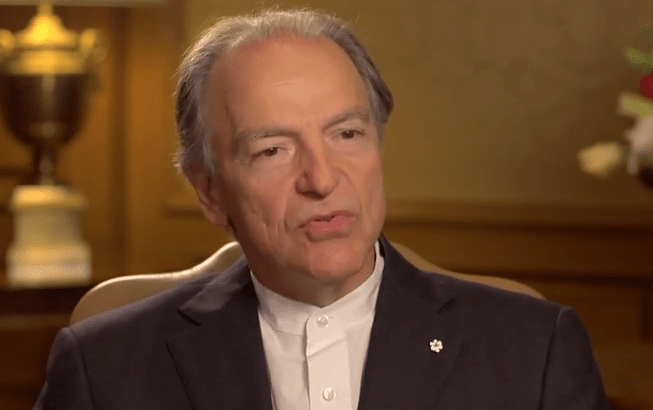 Video interview with Lassonde founder Pierre Lassonde.
