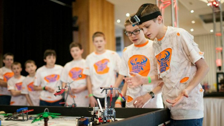 Lassonde hosts the LEGO League, inspiring innovation and creativity in youth.