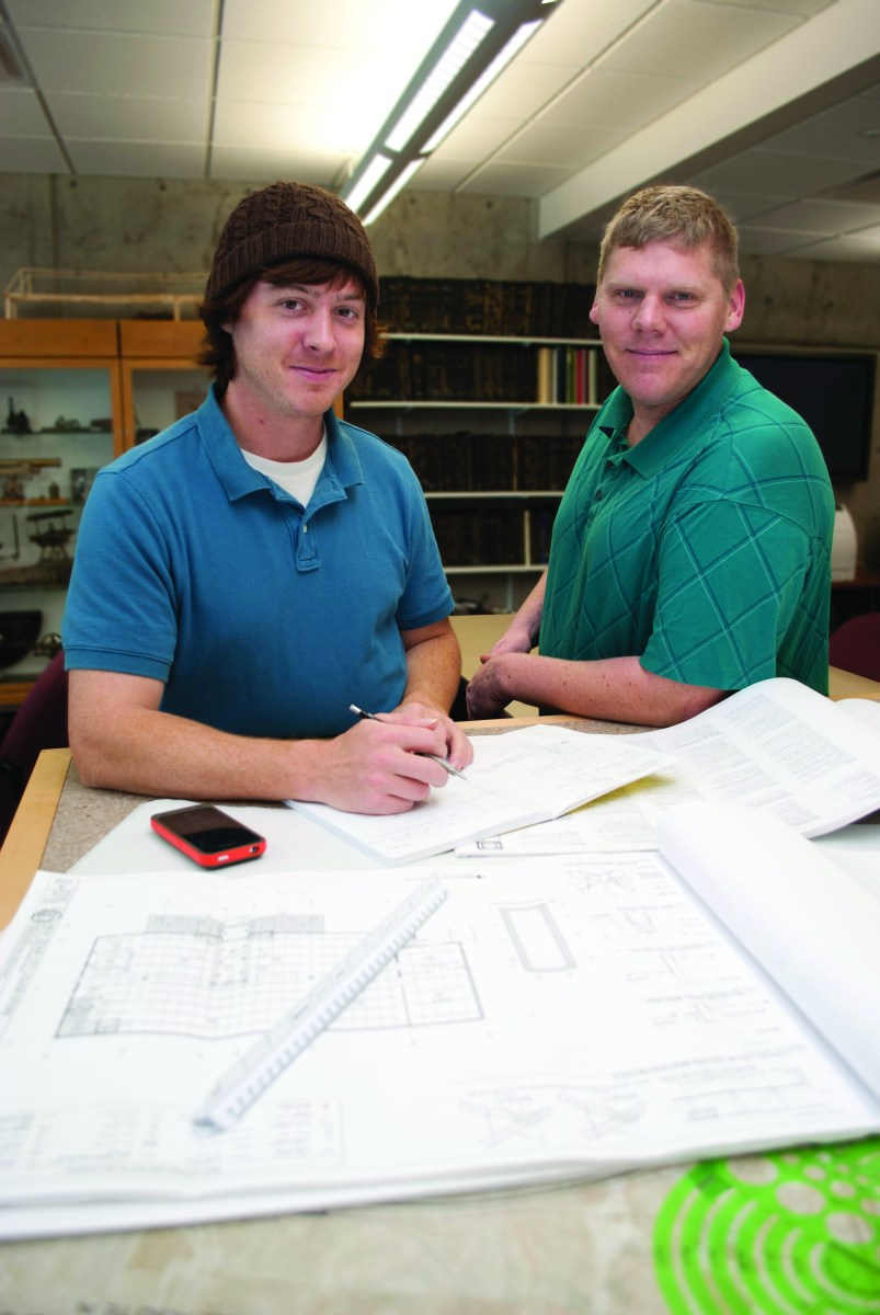 U Civil Engineering Students Learn while Improving Community