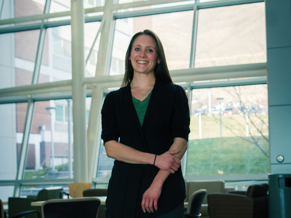 U graduate student researches depression treatment for couples coping with stroke.