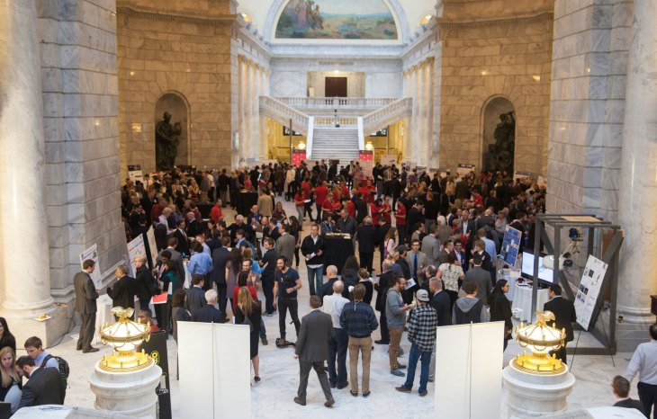 Bench to Bedside awards ceremony in Utah State Capitol