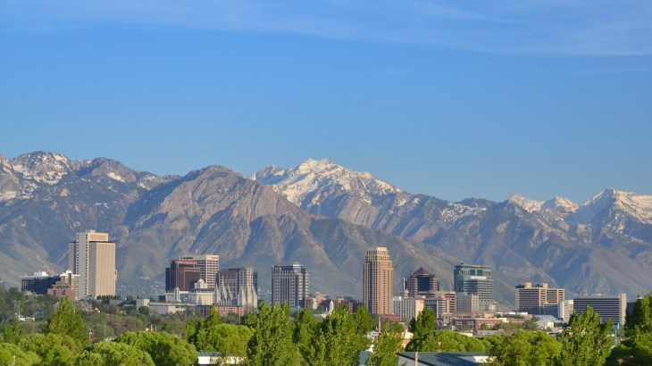 Downtown Salt Lake City photo by Garrett via Flickr