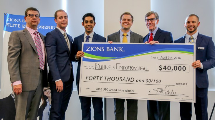 2016 Utah Entrepreneur Challenge Winner Through the Cords, LLC