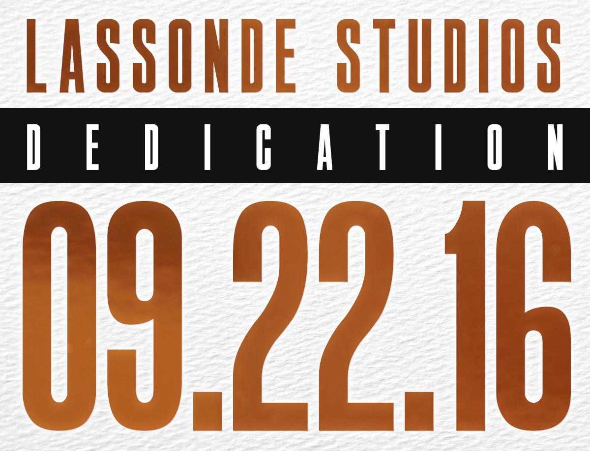 Lassonde Studios Dedication