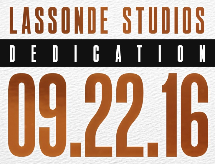 Lassonde Studios Dedication